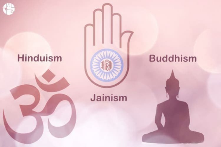 The four religions born in India - Hinduism, Buddhism, Jainism, and Sikhism, are followed by (1.6 Billion) 22% of the total world's population.