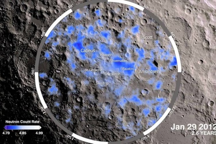 Water on the moon was founded by India. In September 2009, India's ISRO Chandrayaan- 1 using its Moon Mineralogy Mapper discovered water on the moon for the first time.