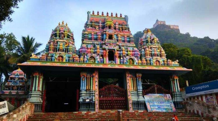 दागिरीश्वरर मंदिर: दो पवित्र ईगल (Vedagiriswarar temple)