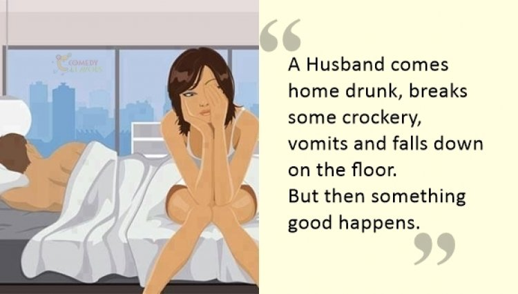 Husband Comes Home Drunk… Here's What Happens Next!