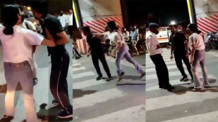 FIR registered | Real Name of viral Lucknow Girl who beat cab driver #ArrestLucknowGirl